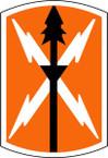 STICKER US ARMY UNIT 516th Signal Brigade SHIELD