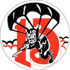 STICKER US ARMY UNIT 513th Parachute Infantry Regiment SHIELD
