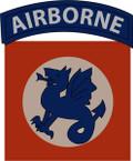 STICKER US ARMY UNIT 508th Regimental Combat Team SHIELD