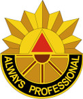 STICKER US ARMY UNIT 506 Transportation Battalion CREST