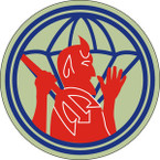 STICKER US ARMY UNIT 504th Parachute Infantry Regiment SHIELD