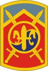 STICKER US ARMY UNIT 501st Sustainment Brigade SHIELD