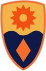 STICKER US ARMY UNIT 49th Infantry Brigade SHIELD