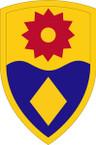 STICKER US ARMY UNIT 49th Military Police Brigade SHIELD