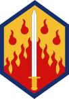 STICKER US ARMY UNIT 48th Chemical Brigade SHIELD