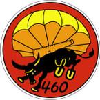 STICKER US ARMY UNIT 460th Parachute Field Artillery Regiment SHIELD