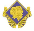 STICKER US ARMY UNIT 45th Infantry Brigade Crest