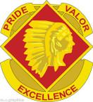 STICKER US ARMY UNIT 45th Field Artillery Brigade