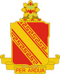 STICKER US ARMY UNIT 44TH AIR DEFENSE ARTILLERY REGIMENT