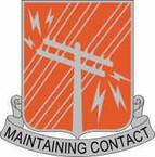 STICKER US ARMY UNIT 440th Signal Battalion Crest