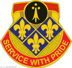 STICKER US ARMY UNIT 434th Field Artillery Brigade