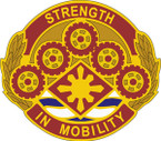 STICKER US ARMY UNIT 425 Transportation Brigade CREST