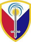 STICKER US ARMY UNIT 413th Support Brigade SHIELD