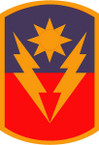 STICKER US ARMY UNIT 40th Armor Brigade SHIELD