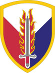 STICKER US ARMY UNIT 409th Support Brigade SHIELD