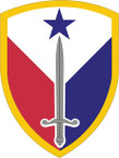 STICKER US ARMY UNIT 407th Support Brigade SHIELD