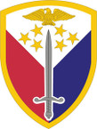 STICKER US ARMY UNIT 406th Support Brigade SHIELD