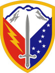 STICKER US ARMY UNIT 404th Support Brigade SHIELD