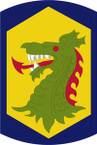 STICKER US ARMY UNIT 404th Chemical Brigade SHIELD