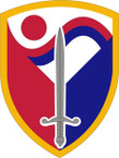 STICKER US ARMY UNIT 403rd Support Brigade SHIELD