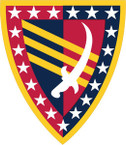 STICKER US ARMY UNIT 38th Sustainment Brigade SHIELD