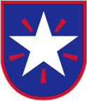 STICKER US ARMY UNIT 36th Infantry Brigade SHIELD