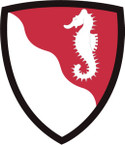 STICKER US ARMY UNIT 36th Engineer Brigade SHIELD