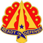 STICKER US ARMY UNIT 35TH AIR DEFENSE ARTILLERY BRIGADE II
