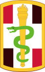 STICKER US ARMY UNIT 330th Medical Brigade SHIELD