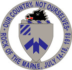 STICKER US ARMY UNIT 30th Infantry Regiment