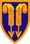 STICKER US ARMY UNIT 2nd Support Brigade SHIELD
