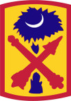 STICKER US ARMY UNIT 263rd Air Defense Artillery Brigade SHIELD