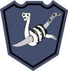 STICKER US ARMY UNIT 258th Infantry Brigade SHIELD