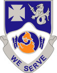 STICKER US ARMY UNIT 23RD INFANTRY REGIMENT SHIELD COL