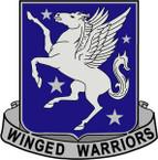 STICKER US ARMY UNIT 228th Aviation Regiment CREST