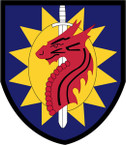 STICKER US ARMY UNIT 224th Sustainment Brigade SHIELD
