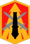 STICKER US ARMY UNIT 214th Field Artillery Brigade SHIELD