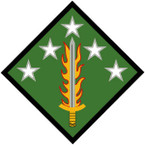 STICKER US ARMY UNIT 20th - Support Command SHIELD