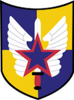 STICKER US ARMY UNIT 20th Aviation Brigade SHIELD