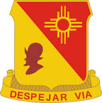 STICKER US ARMY UNIT 202nd Field Artillery Regiment CREST