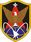 STICKER US ARMY UNIT 1st Space Brigade