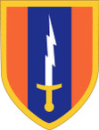 STICKER US ARMY UNIT 1st Signal Brigade SHIELD