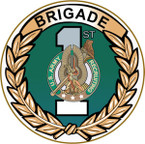 STICKER US ARMY UNIT 1st Recruiting Brigade - Detail