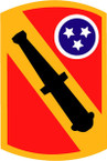 STICKER US ARMY UNIT 196th Field Artillery Brigade SHIELD