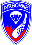 STICKER US ARMY UNIT 187th Airborne Div. SHIELD