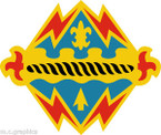 STICKER US ARMY UNIT 17th Field Artillery Brigade