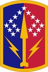 STICKER US ARMY UNIT 174th Air Defense Artillery Brigade SHIELD