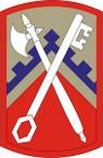 STICKER US ARMY UNIT 16th Sustainment Brigade SHIELD