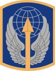 STICKER US ARMY UNIT 166th Aviation Brigade SHIELD