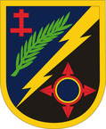 STICKER US ARMY UNIT 162 Infantry Brigade SHIELD